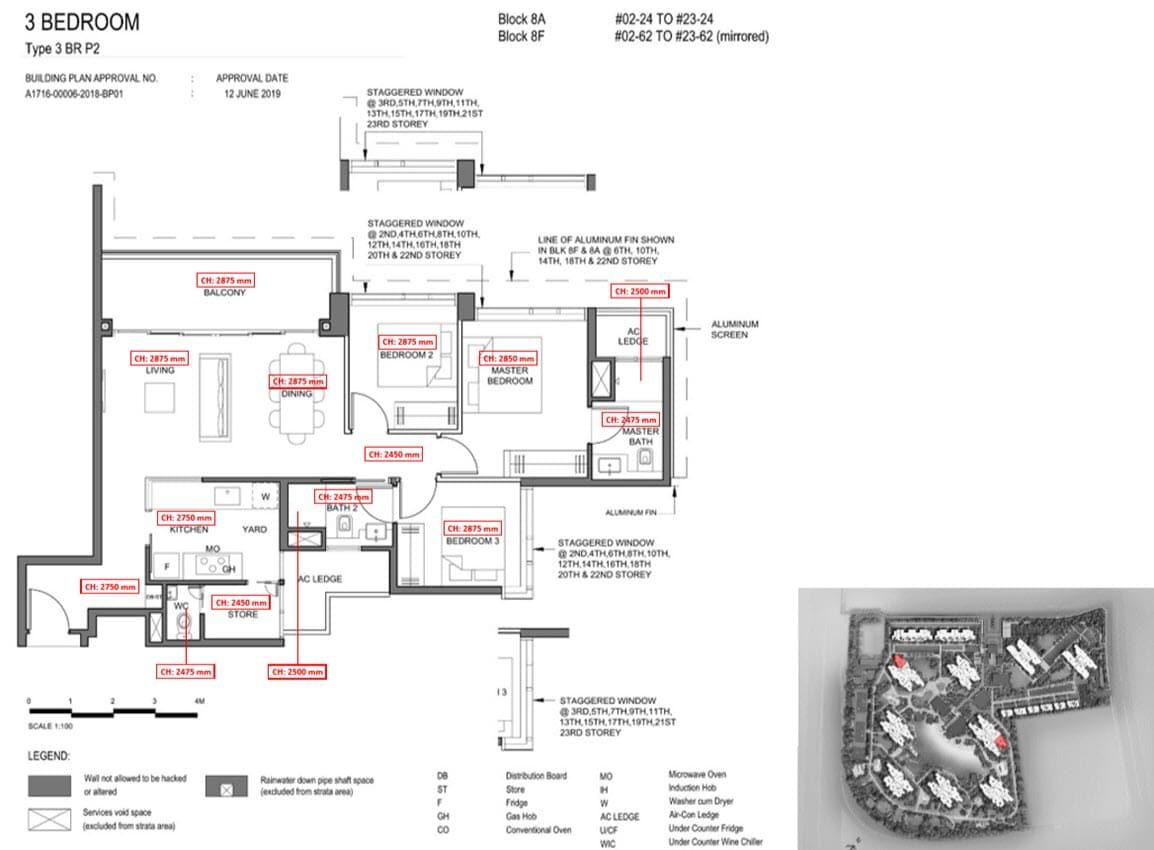 Parc Clematis Condo Showflat Show Unit - 3 Bedroom Premium (Elegance) - 3BR P-2