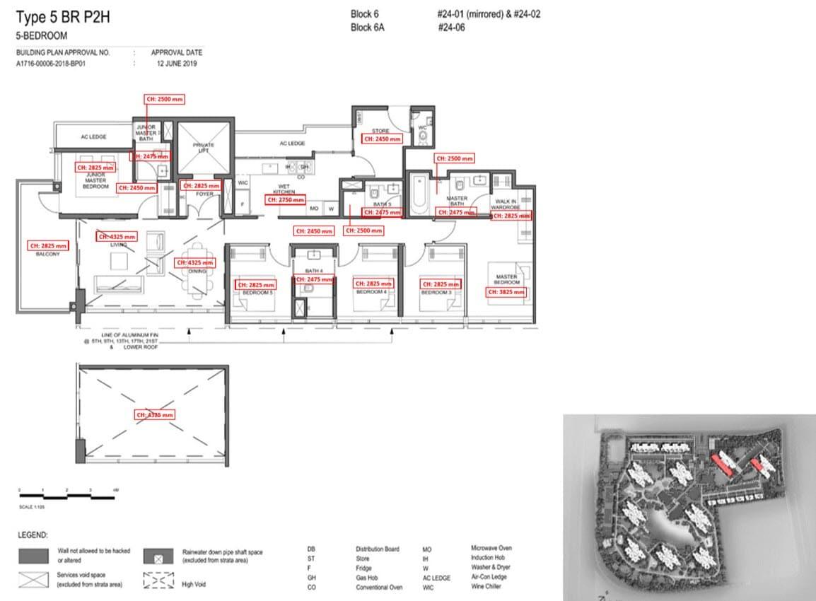 Parc Clematis Condo Showflat Show Unit - 5 Bedroom Premium (Signature) - 5BR P-2