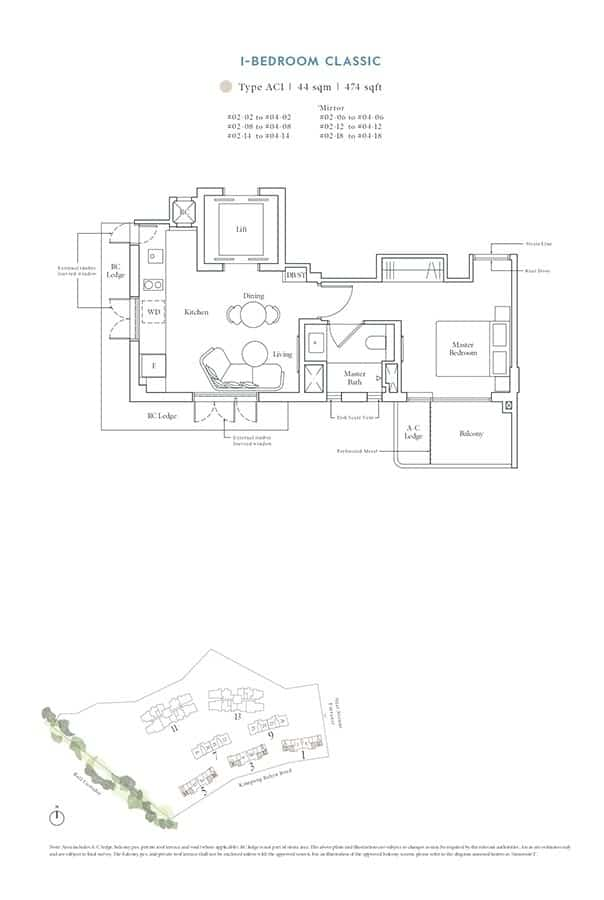 Avenue-South-Residence-Condo-Floor-Plan-Heritage-Collection-1-Bedroom-Classic-AC1