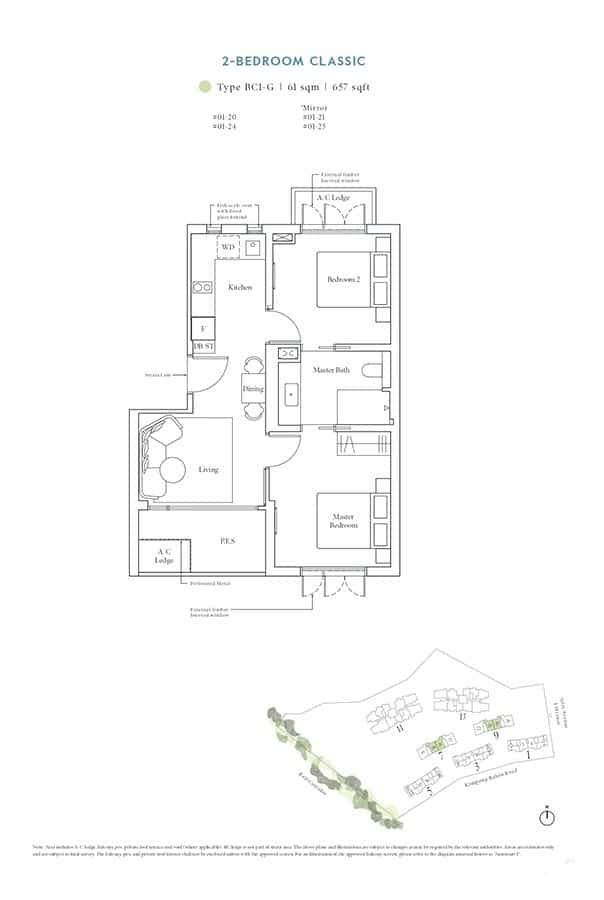 Avenue-South-Residence-Condo-Floor-Plan-Heritage-Collection-2-Bedroom-Classic-BC1-G