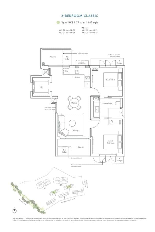 Avenue-South-Residence-Condo-Floor-Plan-Heritage-Collection-2-Bedroom-Classic-BC1