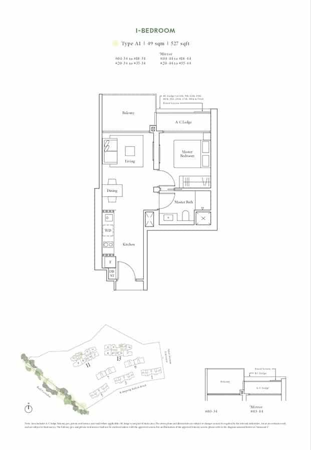 Avenue-South-Residence-Condo-Floor-Plan-Horizon-Collection-1-Bedroom-A1