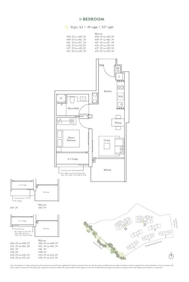 Avenue-South-Residence-Condo-Floor-Plan-Horizon-Collection-1-Bedroom-A2
