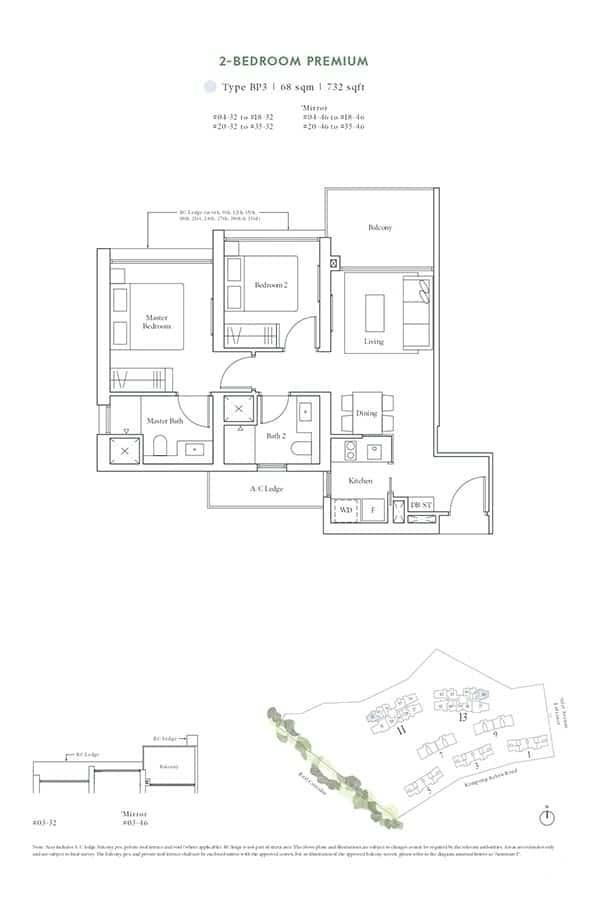 Avenue-South-Residence-Condo-Floor-Plan-Horizon-Collection-2-Bedroom-Premium-BP3