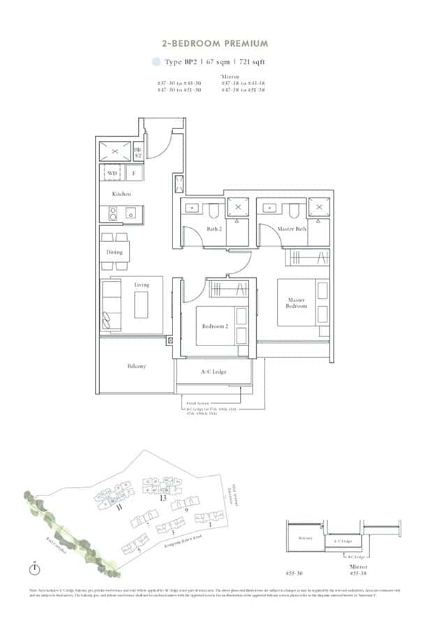 Avenue-South-Residence-Condo-Floor-Plan-Peak-Collection-2-Bedroom-Premium-BP2
