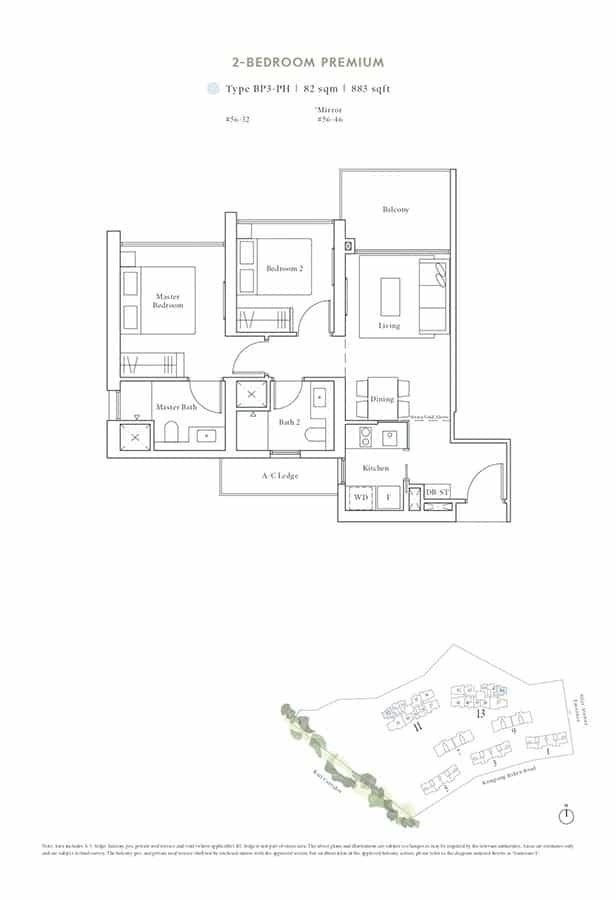 Avenue-South-Residence-Condo-Floor-Plan-Peak-Collection-2-Bedroom-Premium-BP3-PH