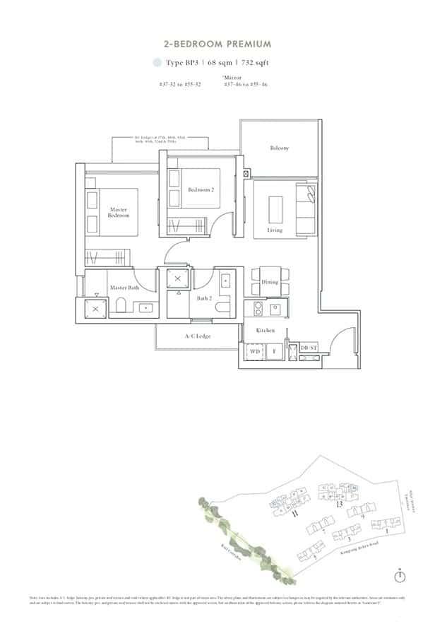 Avenue-South-Residence-Condo-Floor-Plan-Peak-Collection-2-Bedroom-Premium-BP3