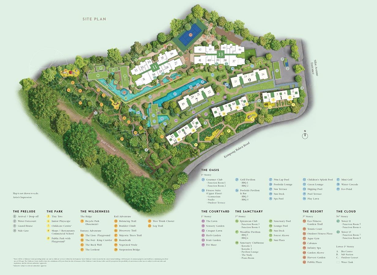 Avenue-South-Residence-Condo-Site-Plan