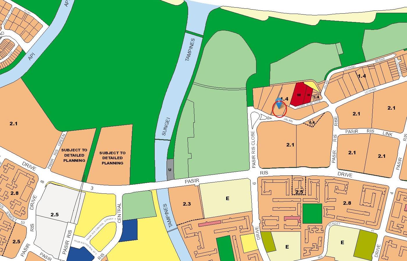 Casa-Al-Mare-Condo-URA-Master-Plan-Map