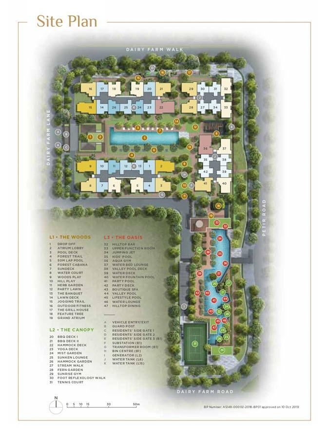 Dairy Farm Residences Condo Site Plan 2