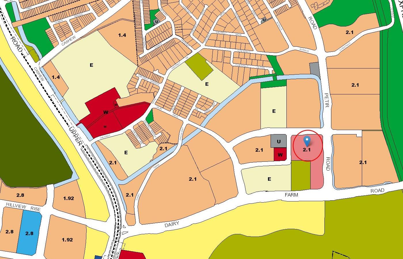 Dairy-Farm-Residences-Condo-URA-Master-Plan-Map