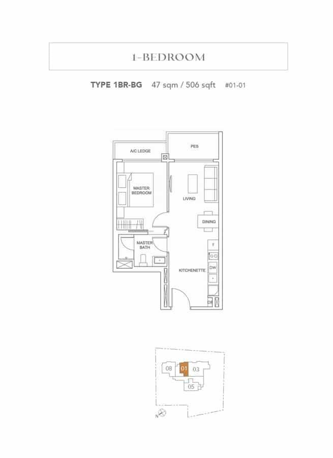 Jervois Treasures Floor Plans Singapore Excellent Layout Space