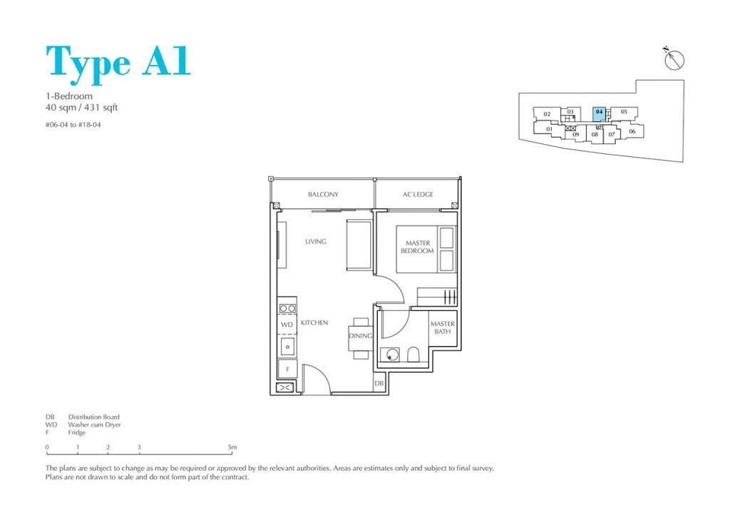 Jui-Residences-Condo-Floor-Plan-1-Bedroom-A1