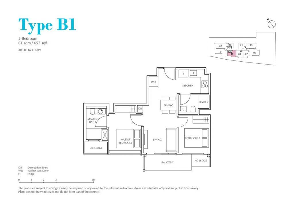 Jui-Residences-Condo-Floor-Plan-2-Bedroom-B1