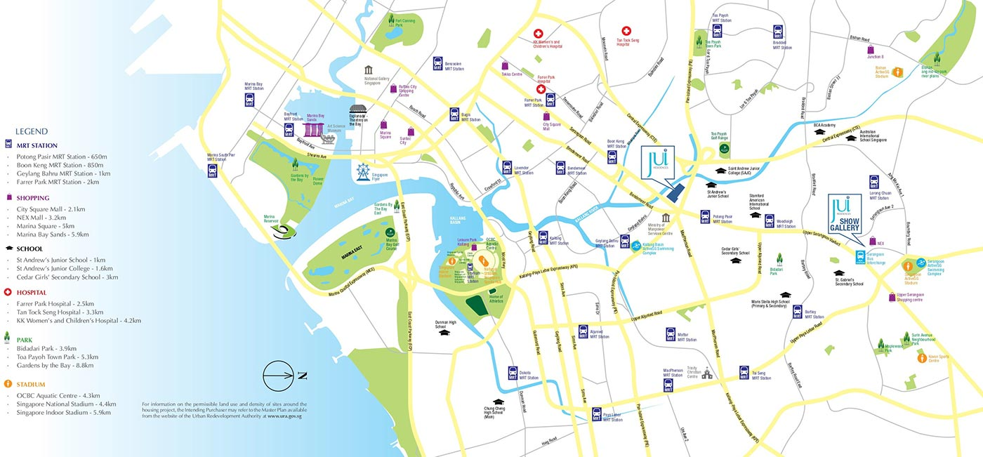 Jui-Residences-Condo-Location-Map