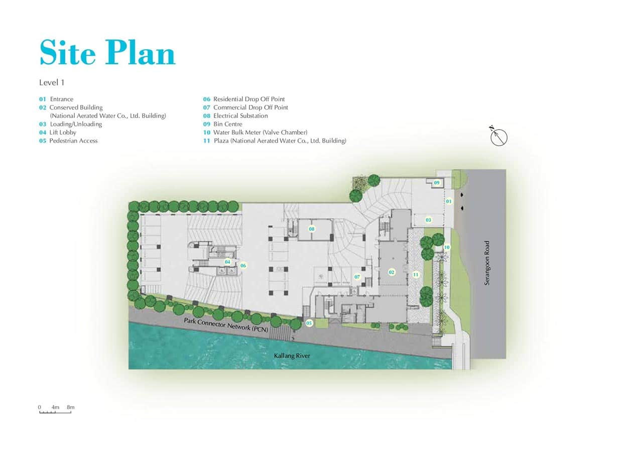 Jui-Residences-Condo-Site-Plan-Level-1