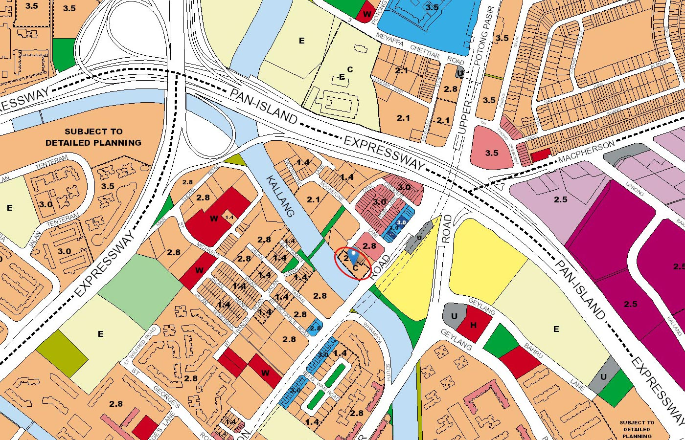 Jui-Residences-Condo-URA-Master-Plan-Map