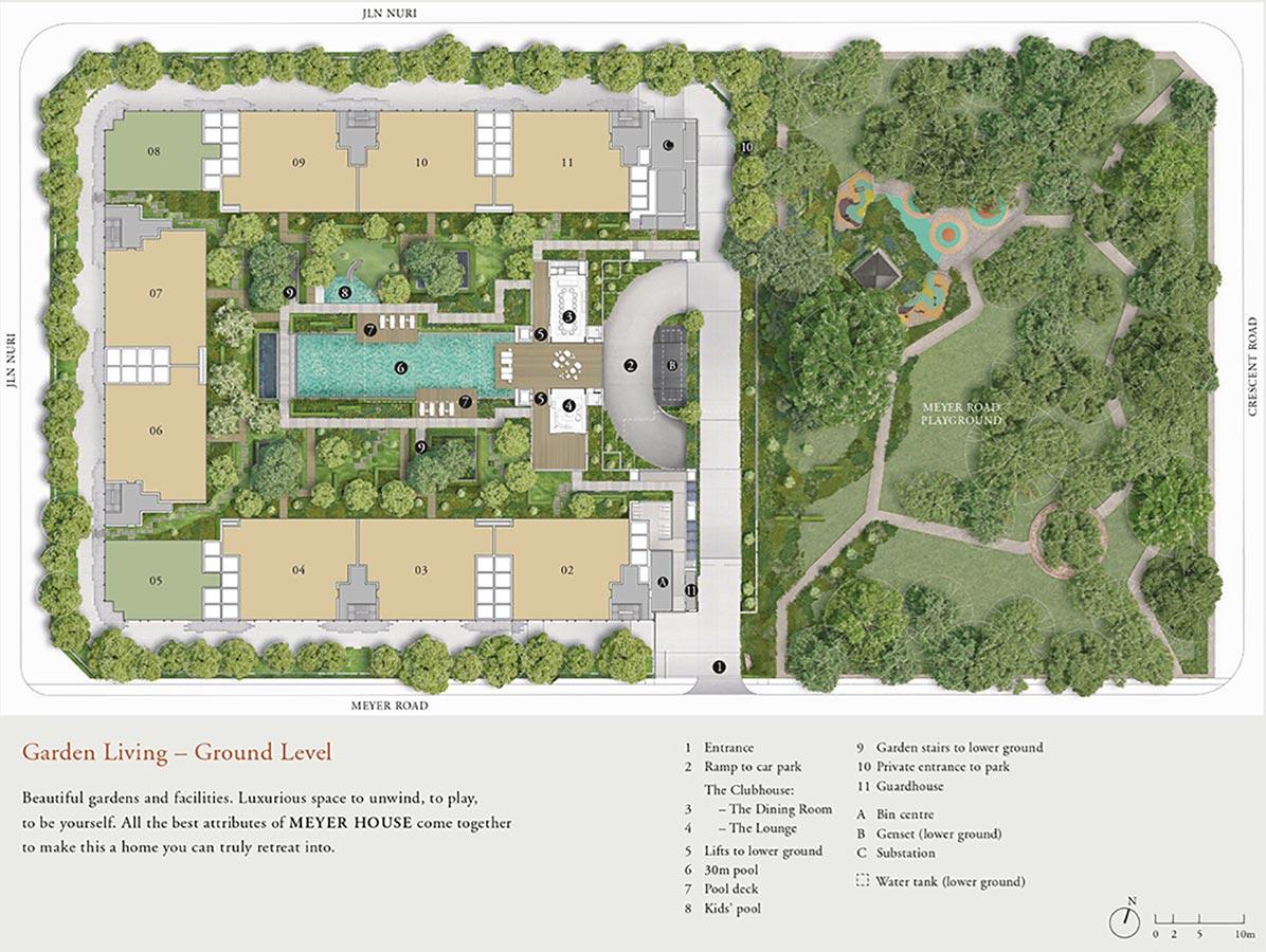 Meyer-House-Condo-Site-Plan-Ground-Level