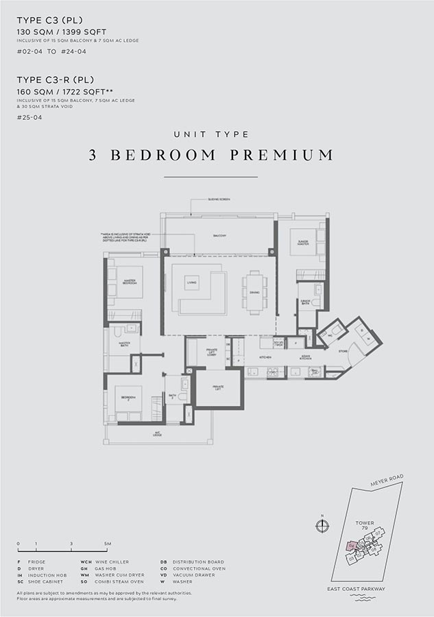 Meyer-Mansion-Condo-Floor-Plan-3-Bedroom-Premium-C3