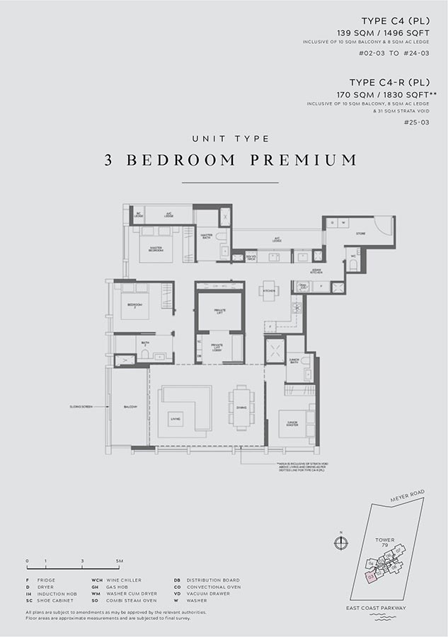 Meyer-Mansion-Condo-Floor-Plan-3-Bedroom-Premium-C4