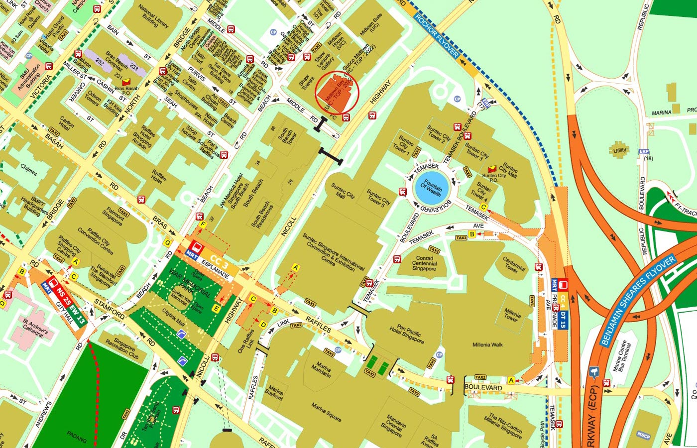 Midtown-Bay-Condo-Street-Directory-Map