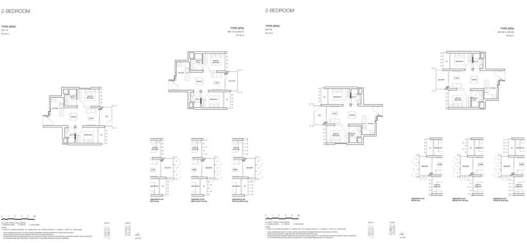 Midwood Condo Floor Plan 2 Bedroom 2Pb 2Pb1