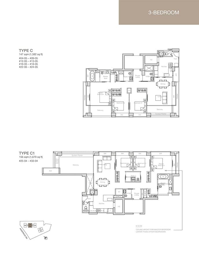 Nouvel-18-Condo-Floor-Plan-3-Bedroom-C-C1