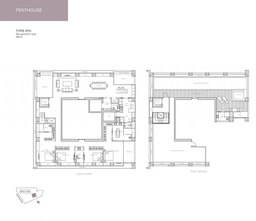 Nouvel-18-Condo-Floor-Plan-Penthouse-PH1