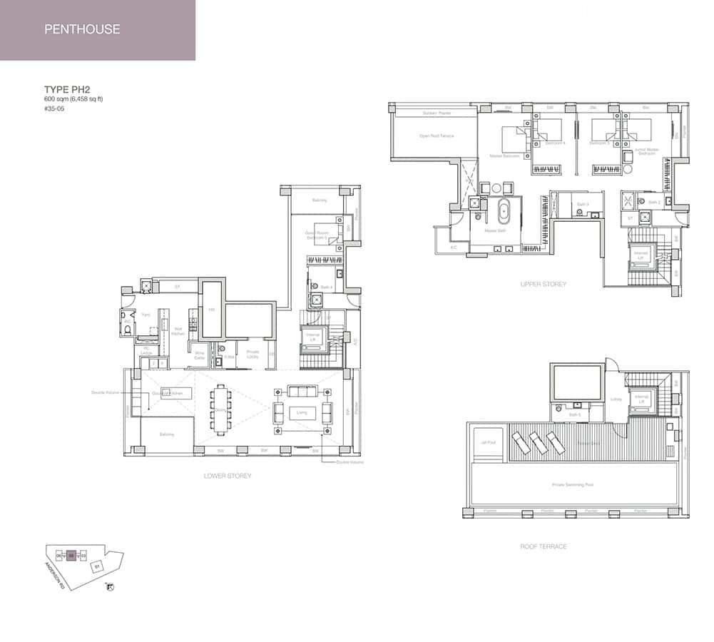 Nouvel-18-Condo-Floor-Plan-Penthouse-PH2