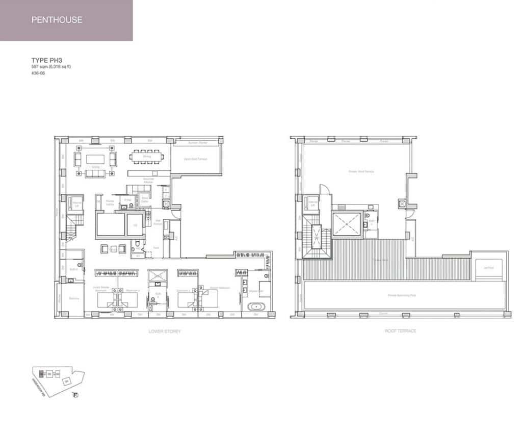 Nouvel-18-Condo-Floor-Plan-Penthouse-PH3