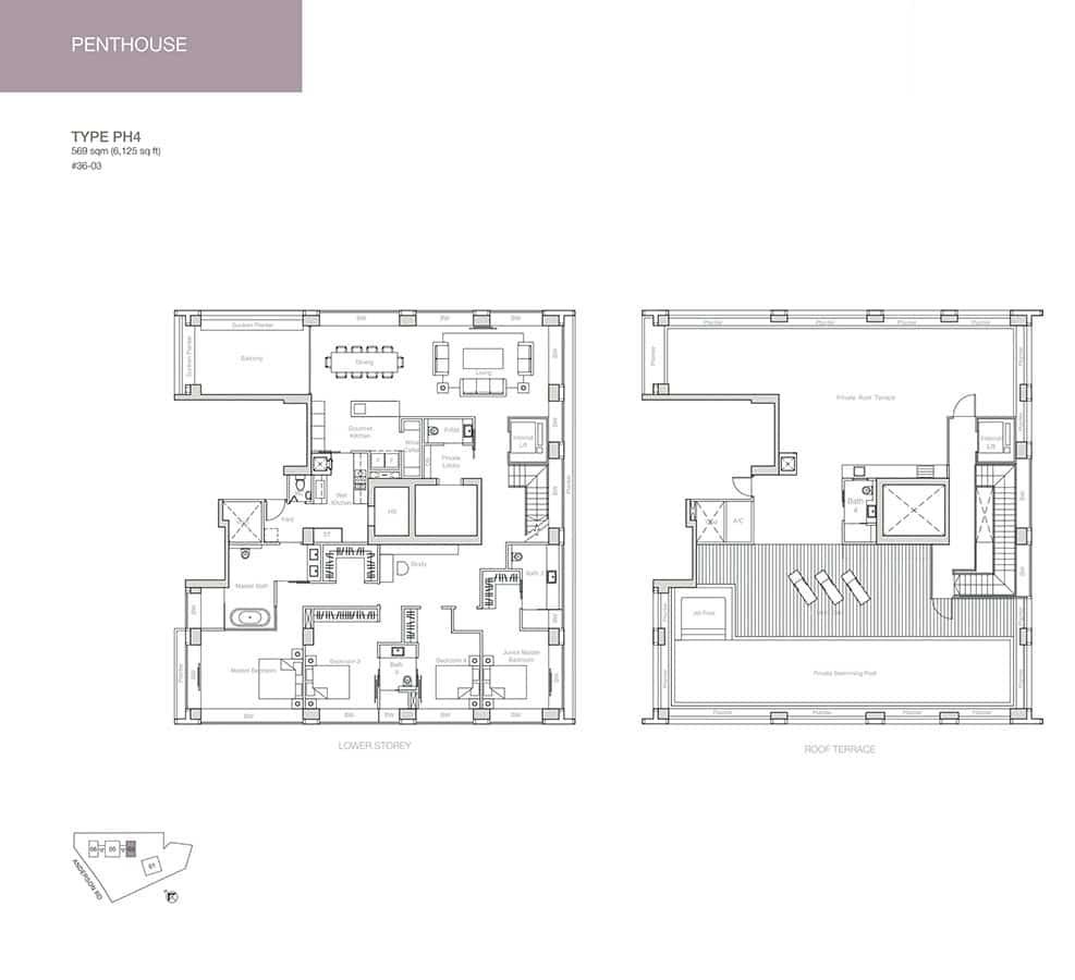Nouvel-18-Condo-Floor-Plan-Penthouse-PH4