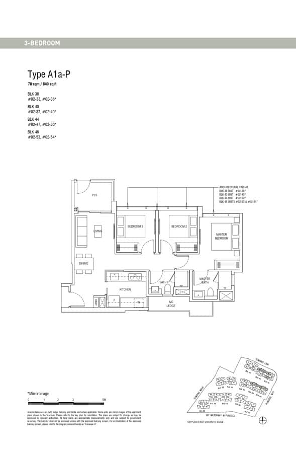 Piermont-Grand-EC-Floor-Plan-3-Bedroom-A1a-P