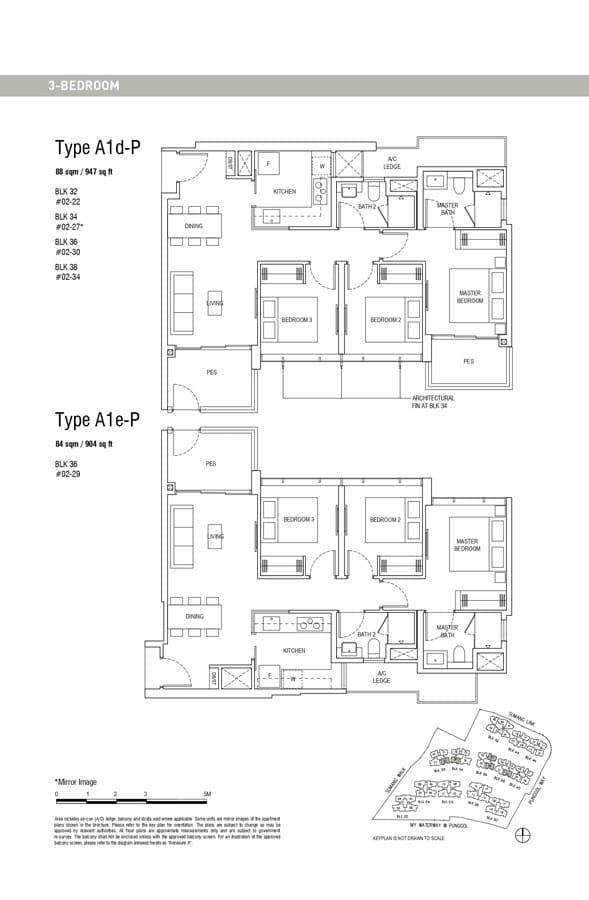 Piermont-Grand-EC-Floor-Plan-3-Bedroom-A1d-P-A1e-P