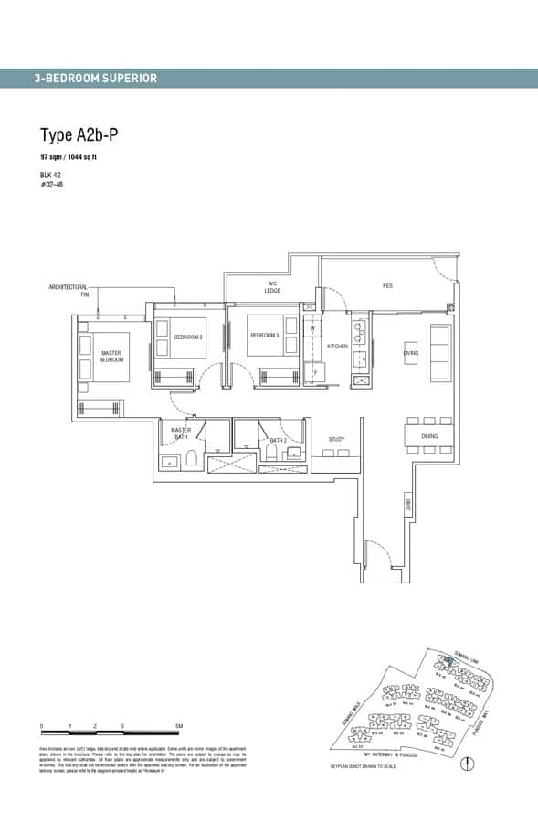 Piermont-Grand-EC-Floor-Plan-3-Bedroom-Superior-A2b-P