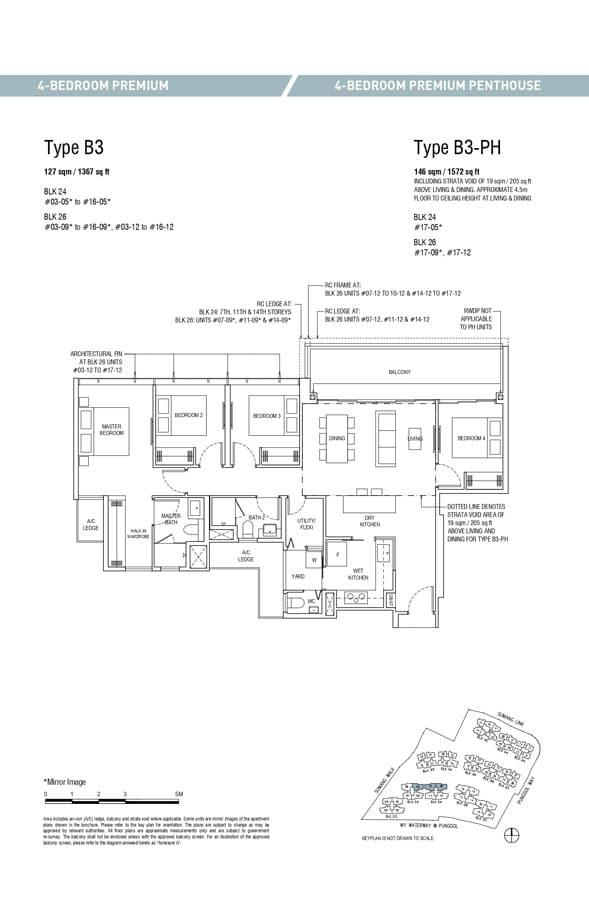 Piermont-Grand-EC-Floor-Plan-4-Bedroom-Premium-B3-B3-PH