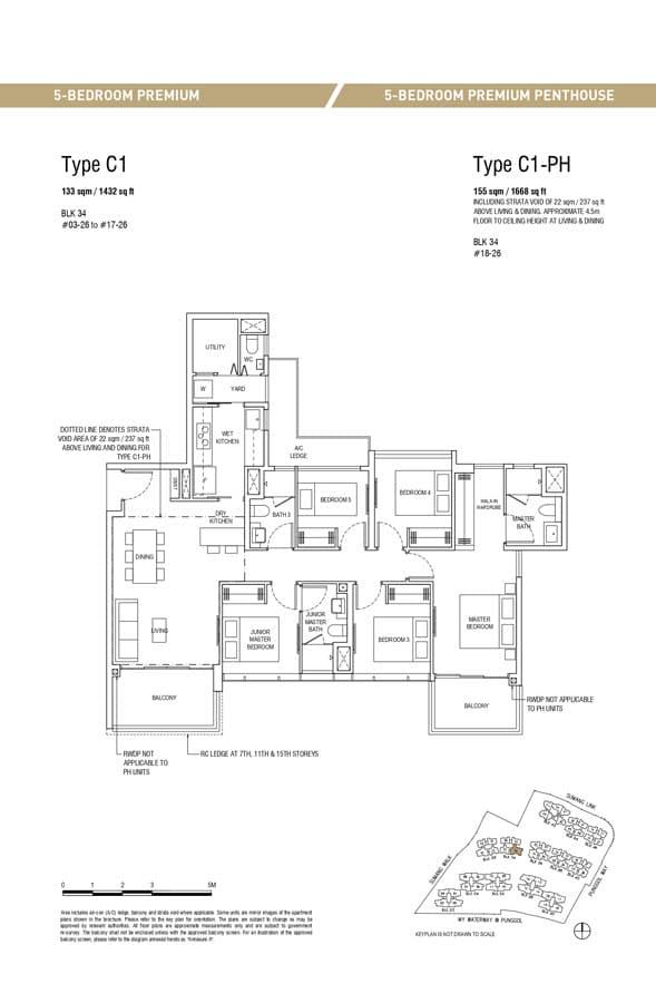 Piermont-Grand-EC-Floor-Plan-5-Bedroom-Premium-C1-C1-PH