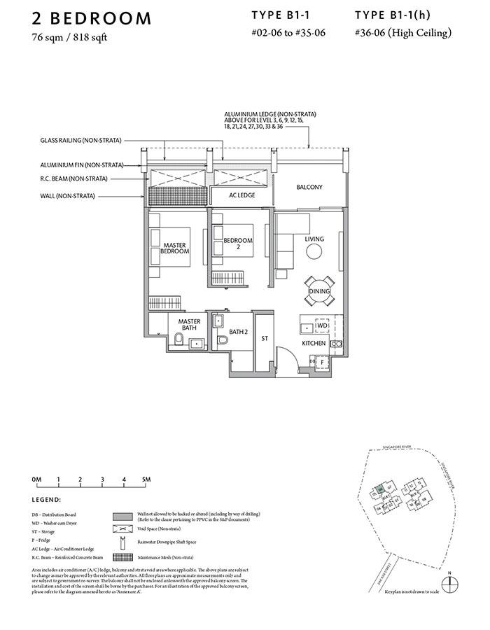 Riviere-Condo-Floor-Plan-Classic-2-Bedroom-B1-1