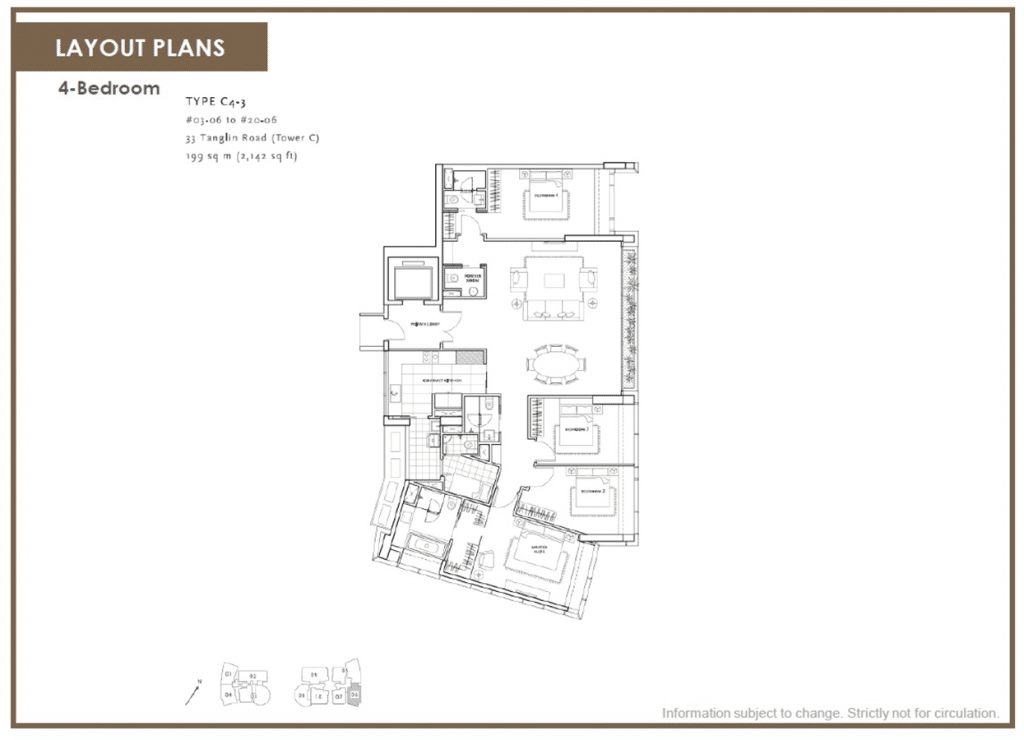 St-Regis-Residences-Condo-Floor-Plan-4-Bedroom-C4-3