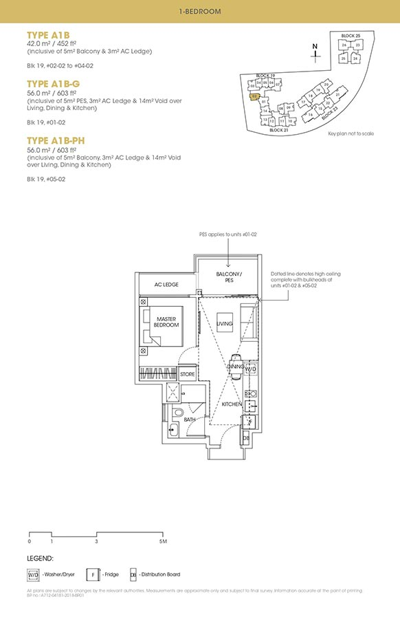 The-Antares-Condo-Floor-Plan-1-Bedroom-A1B
