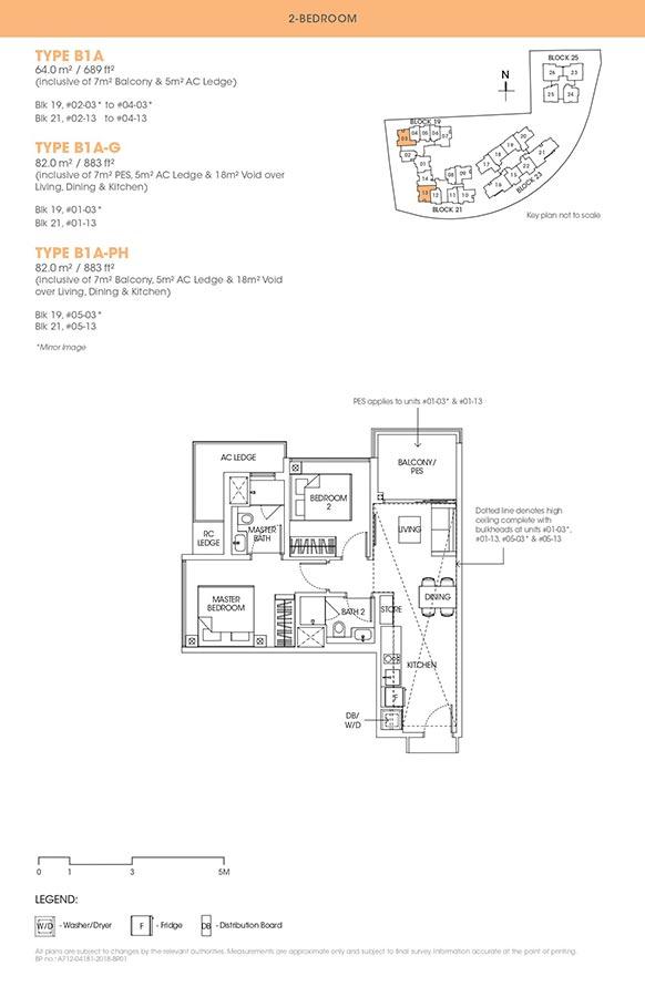 The-Antares-Condo-Floor-Plan-2-Bedroom-B1A