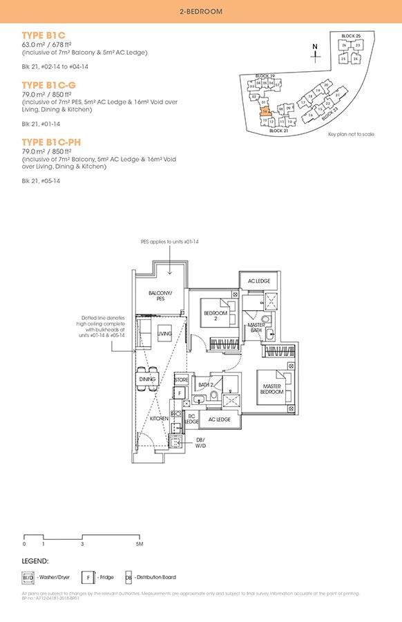 The-Antares-Condo-Floor-Plan-2-Bedroom-B1C