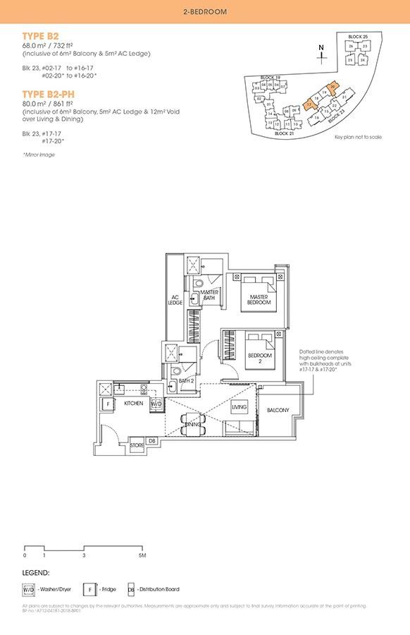 The-Antares-Condo-Floor-Plan-2-Bedroom-B2