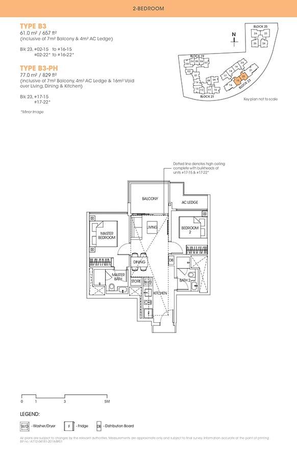 The-Antares-Condo-Floor-Plan-2-Bedroom-B3