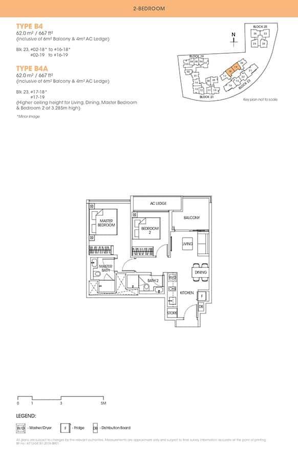 The-Antares-Condo-Floor-Plan-2-Bedroom-B4