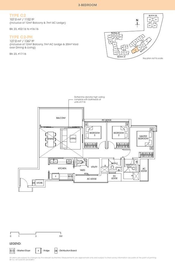 The-Antares-Condo-Floor-Plan-3-Bedroom-C2