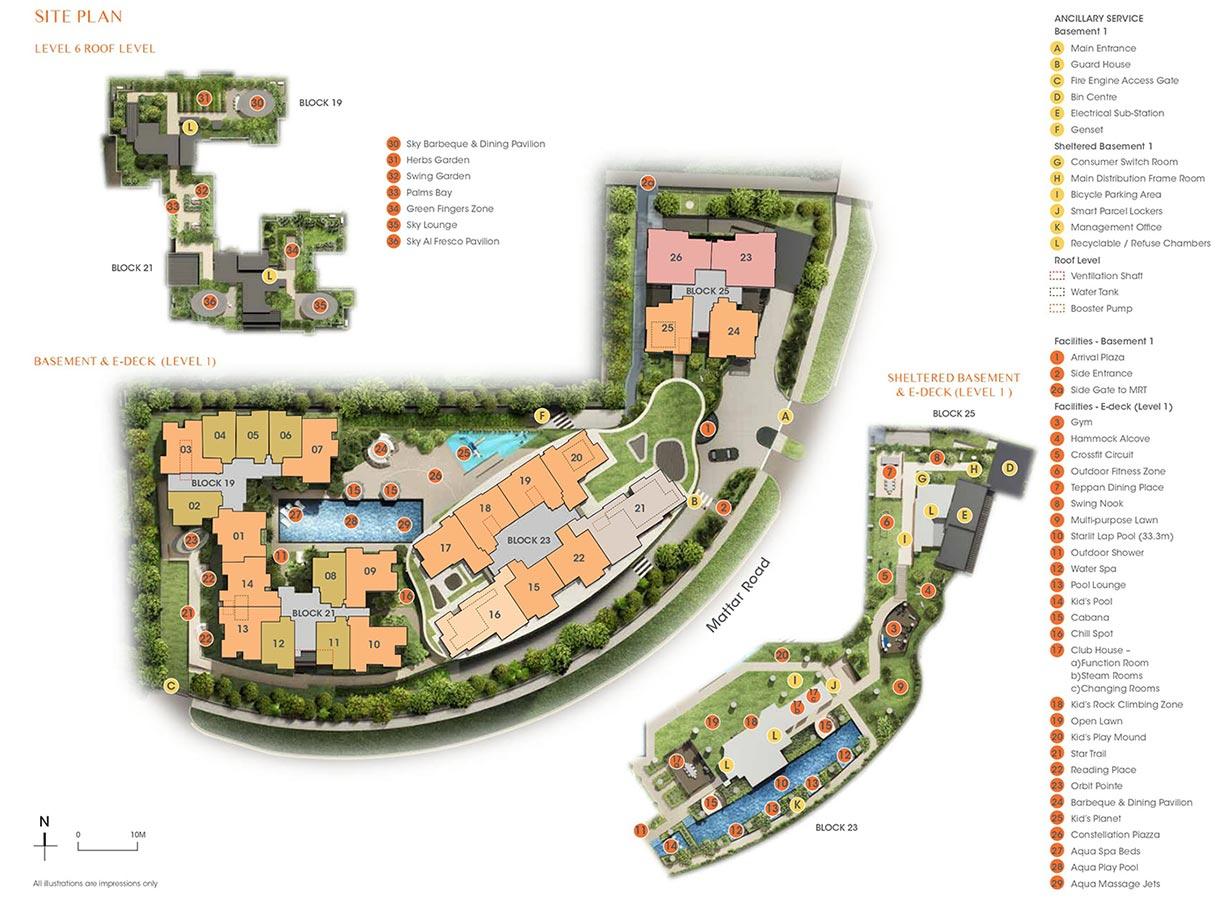 The-Antares-Condo-Site-Plan