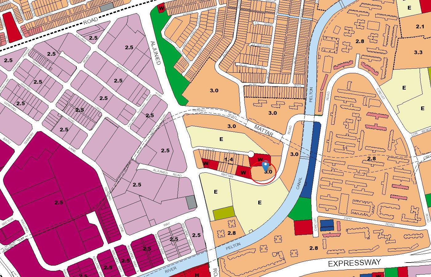 The-Antares-Condo-URA-Master-Plan-Map