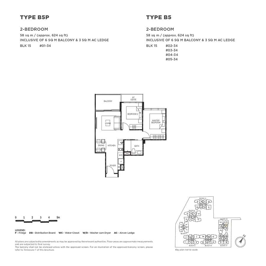 The-Gazania-Condo-Floor-Plan-2-Bedroom-B5-B5P