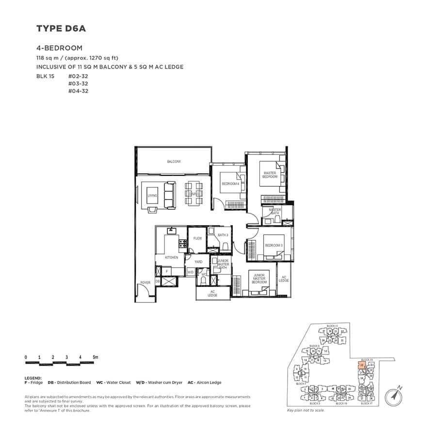The-Gazania-Condo-Floor-Plan-4-Bedroom-D6A