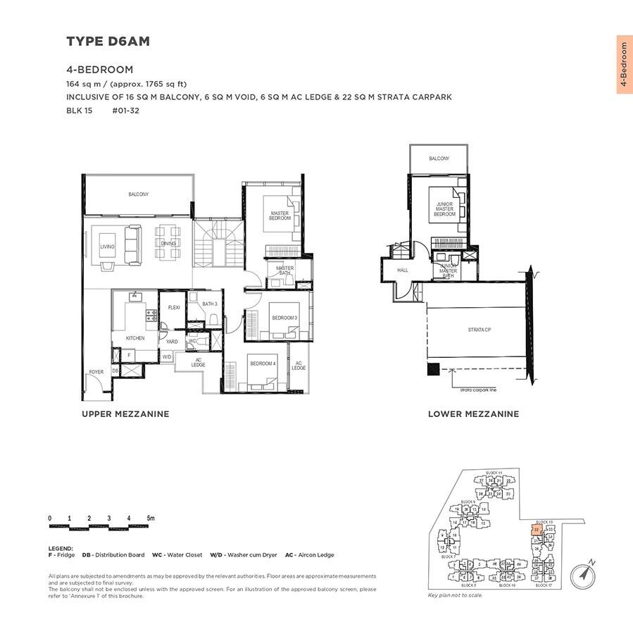 The-Gazania-Condo-Floor-Plan-4-Bedroom-D6AM